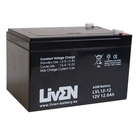 LIVEN LVL12-12 / 12Ah 12V