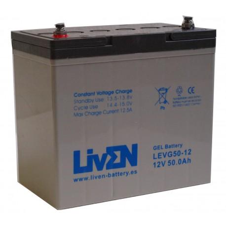 LivEN LEVG50-12 / 50Ah 12V