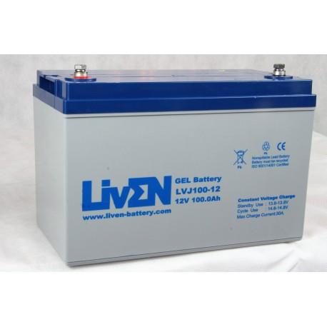 LivEN LVJ120-12 / 120Ah 12V