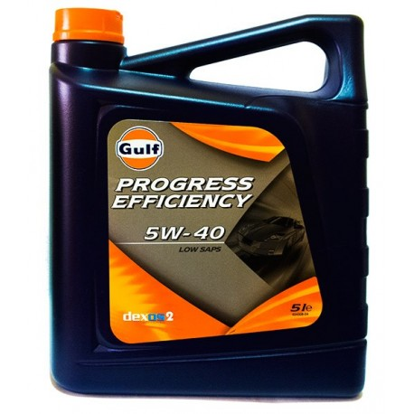 Gulf PROGRESS EFFICIENCY 5W40 CAJA 3X5Lt