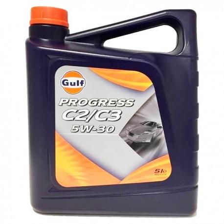 Gulf PROGRESS C2/C3 5W30 CAJA 3X5Lt