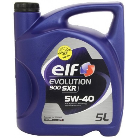 ELF EVOLUTION 900 SXR 5W40 CAJA 3X5Lt