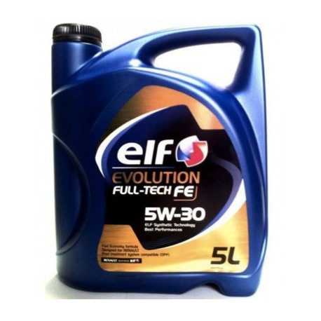 ELF FULL TECH FE 5W30 CAJA 3X5Lt