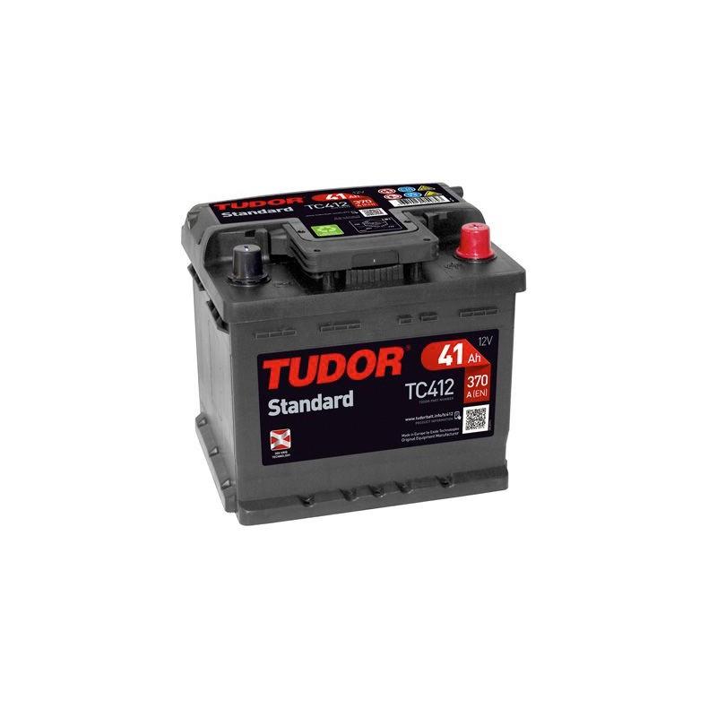 BATERIA TUDOR STANDARD TC412 41Ah 370A 12V