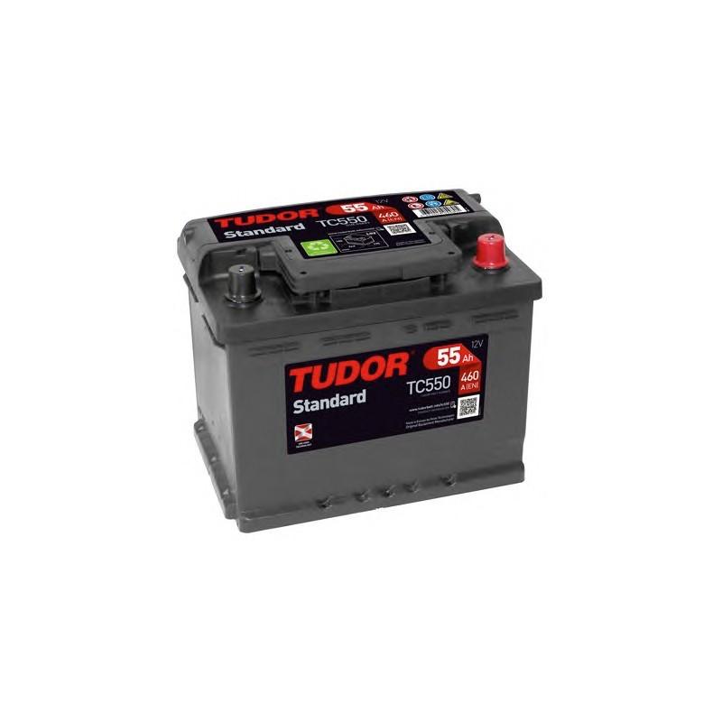 TUDOR STANDARD TC550 / 55Ah 460A 12V
