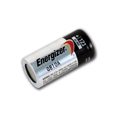 Energizer CR123/CR123A - Pila 123 (Litio, 3 V, 1500 mAh