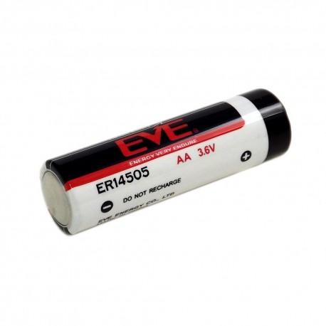 Bateria Pila litio EVE ER14505M AA 3.6V 2.400mAh / 10 UNIDADES