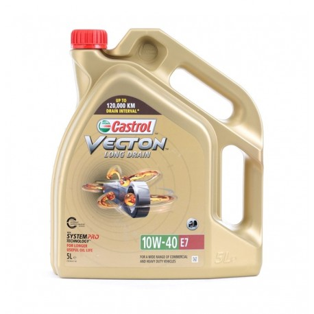 CASTROL VECTON LONG DRAIN E7 10W40 CAJA 4X5Lt