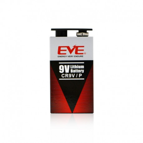 Bateria Pila litio EVE CR9V/P 1.200mAh 9V