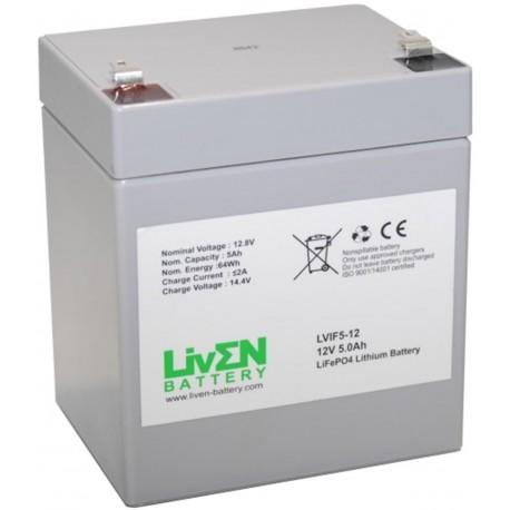 LivEN LVIF5-12 5Ah 12.8V LITIO