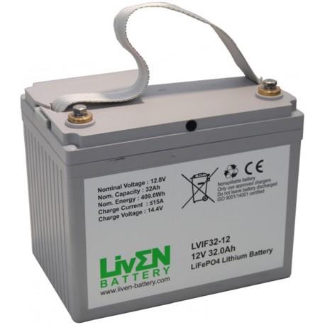 LivEN LVIF32-12 32Ah 12.8V LITIO