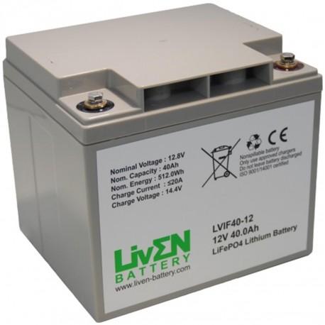 LivEN LVIF40-12 40Ah 12.8V LITIO