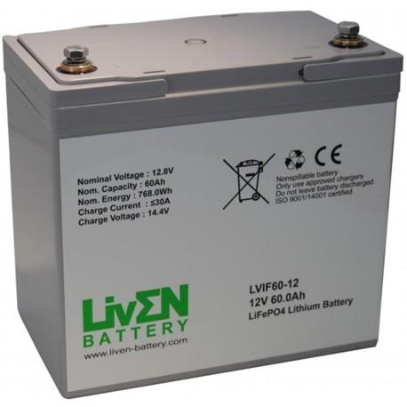 LivEN LVIF60-12 60Ah 12.8V LITIO