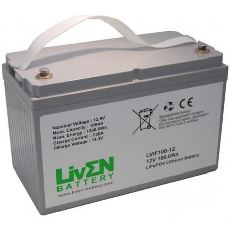 LivEN LVIF100-12 100Ah 12.8V LITIO