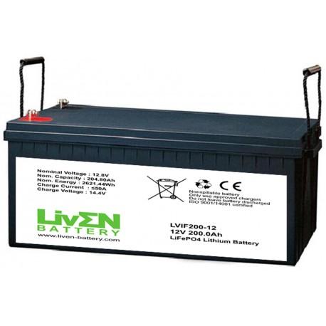 LivEN LVIF200-12 200Ah 12.8V LITIO