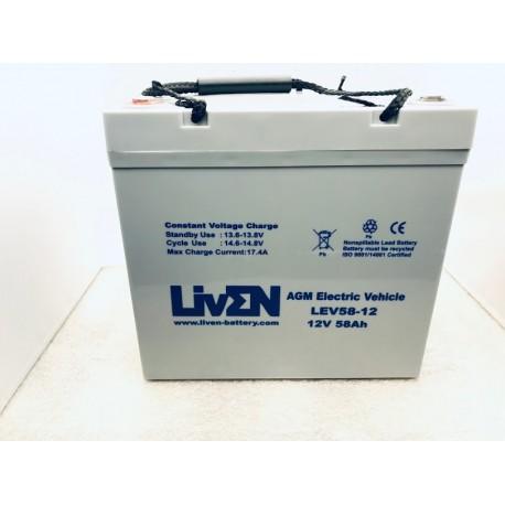 LivEN LEV58-12 58Ah 12V