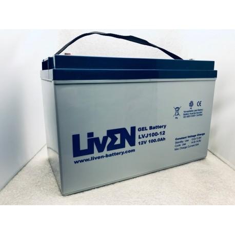 LivEN LVJ100-12 / 100Ah 12V