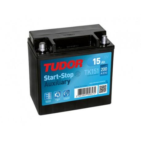 TUDOR AGM TK151 / 15Ah 200A 12V