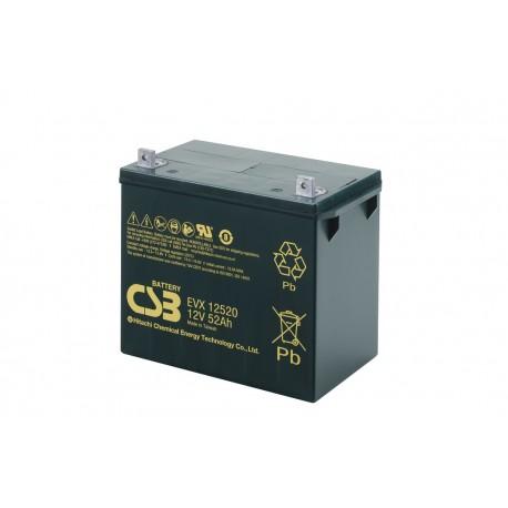 CSB EVX12520 / 52Ah 12V