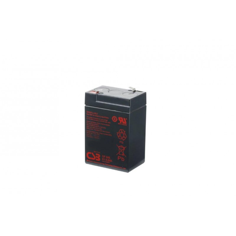 BATERIA CSB GP645 4.5Ah 6V