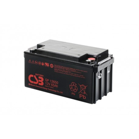 CSB GP12650 / 65Ah 12V