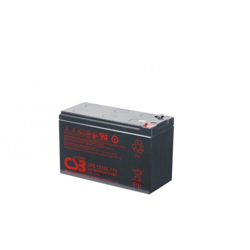 BATERIA CSB UPS123607