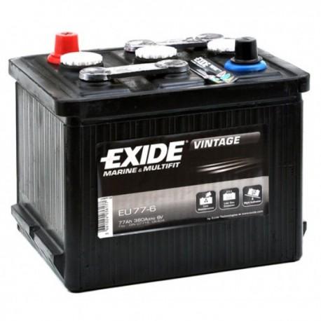 EXIDE EU77-6  77Ah 6V
