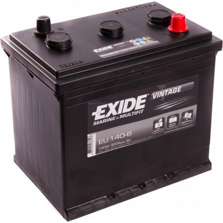 EXIDE EU140-6 / 140Ah 6V