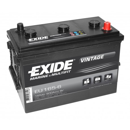 EXIDE EU165-6 165Ah 6V