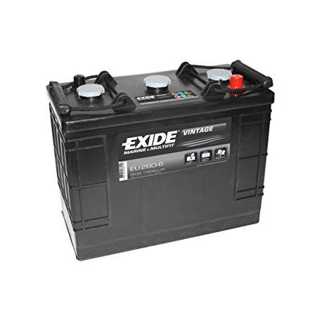 EXIDE EU260-6  260Ah 6V